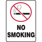 No Smoking Sign with Symbol