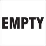 Empty Drum ID Label
