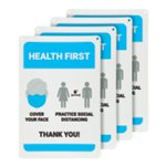 Health First Wall Sign – 4 Signs