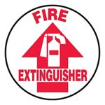 Fire Extinguisher Slip-Gard™ Floor Sign