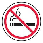 No Smoking Slip-Gard™ Floor Sign