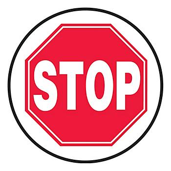 Stop Slip-Gard™ Floor Sign