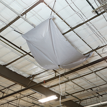 PIG® Rectangular Roof Leak Diverter Tarp