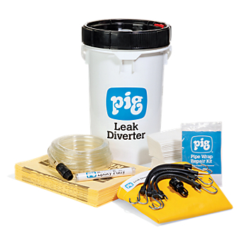 PIG® Pipe Leak Diverter Bucket Kit