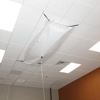 PIG® Rectangular Roof Leak Diverter Tarp