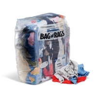WorkWipes® Refreshed Rags - Colored T-Shirt in Bag