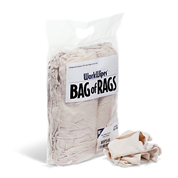 WorkWipes® Natural Shop Towels in Bag
