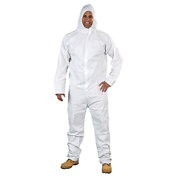Safe N' Clean™ SplashGuard Level D Coveralls