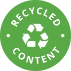 This product contains recycled content to help you reduce your environmental impact while you keep your facility clean, safe and productive.