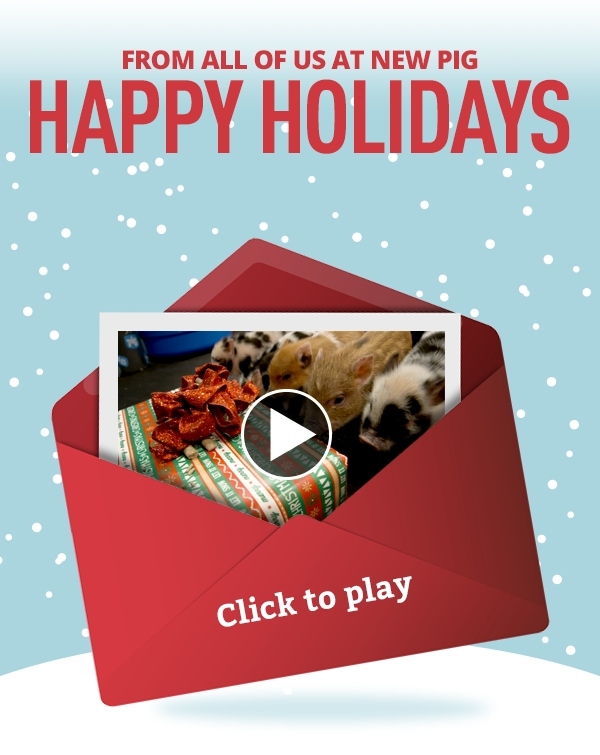 Happy Holidays from New Pig - Holiday Video