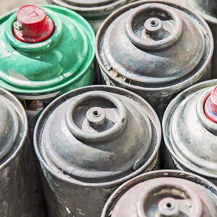 Avoid Disposing of Aerosol Cans as Hazardous Waste