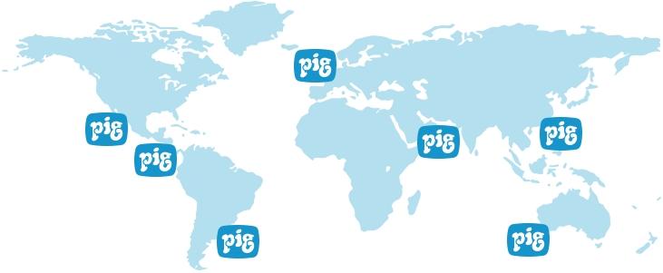 International Shipping Map