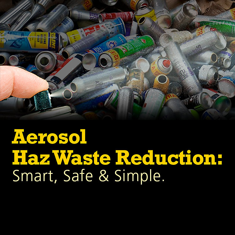 Aerosol Cans: The Hazardous Waste You Might Be Overlooking