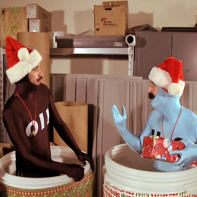 Have Another Round of Laughs from our Christmas Video Outtakes