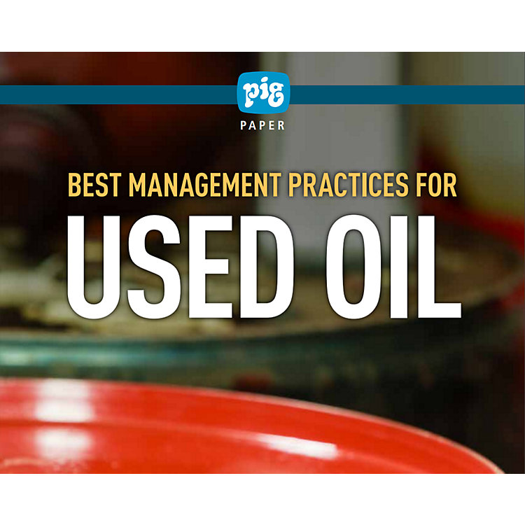 Best Management Practices for Used Oil